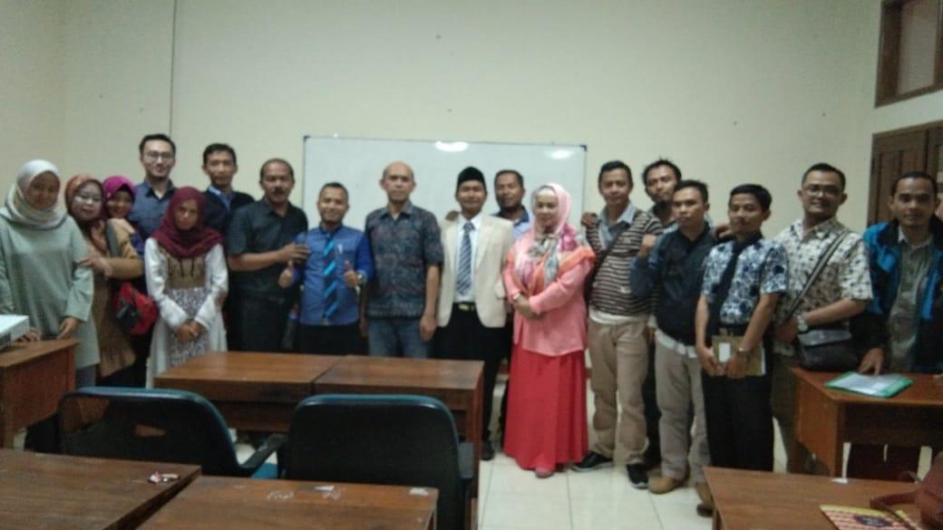 Kuliah Umum Bersama Sekertaris BKD Bapak Evi Abdullah Balfaqih, S.IP.