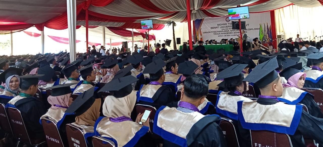 Universitas Garut Gelar Wisuda Angkatan XXVII, Ini Lulusan dengan IPK Tertinggi