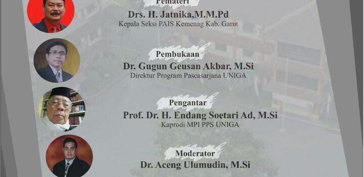 """Webinar """"Manajemen Pembelajaran pada Lembaga Pendidikan Islam di Masa Pandemic Covid-19"""""""
