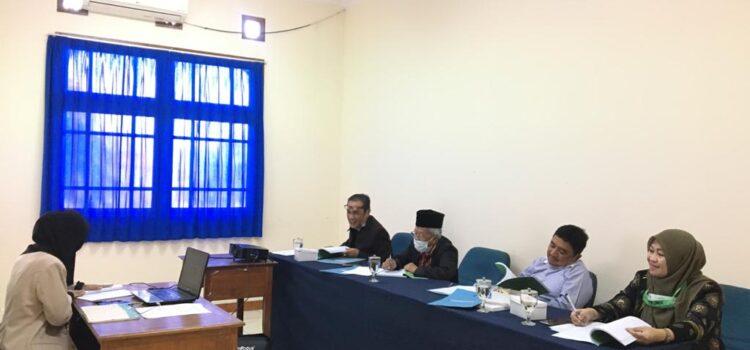 Sidang Tesis dan Seminar Usulan Penelitian Sabtu, 12 September 2020