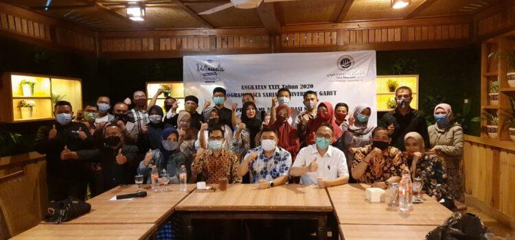 Pelepasan Wisuda angkatan XXIX Program Pascasarjana Universitas Garut